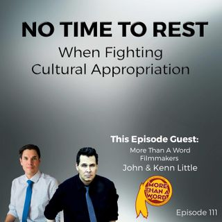 No Time To Rest When Fighting Cultural Appropriation