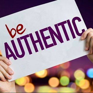 be Authentic  3/9