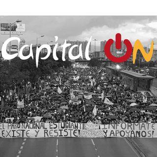Protestas sociales en #Bogotá