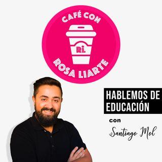 """Café con Santiago Moll - """"La educación es tiempo"""""""