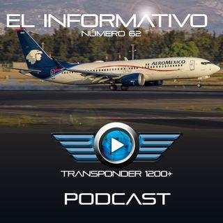 Despega el primer 737 MAX 8 de Aeroméxico en vuelo de pruebas