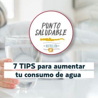 ¿Cómo hidratarse de manera correcta? Sigue estos 7 TIPS para aumentar tu consumo de agua
