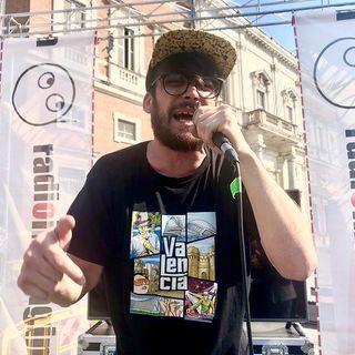 #reggioemilia Festival dei giovani intervista a Dino MC OM