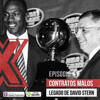 E05-Peores contratos de la NBA y el legado de David Stern.