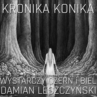Damian Leszczyński. Wystarczy czerń i biel.