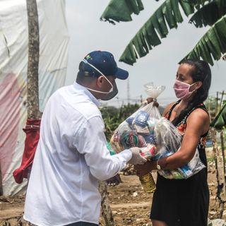 Familias de Bayunca recibieron ayudas humanitarias