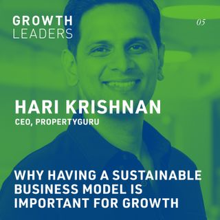 Why having a sustainable business model is important for growth [Episode 5]