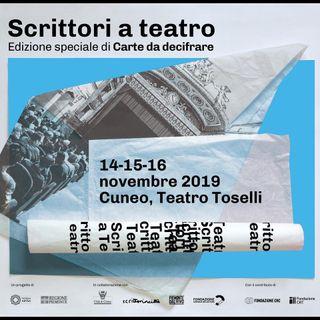 Cuneo, Scrittori a teatro - Intervista ad Alessandro Isaia