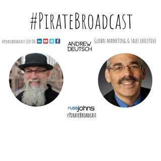 Catch Andrew Deutsch on the PirateBroadcast
