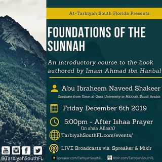 Foundations of The Sunnah