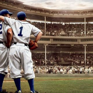 42 Movie Review. w/ Luke Schulz   Phil Talks Sports Podcast