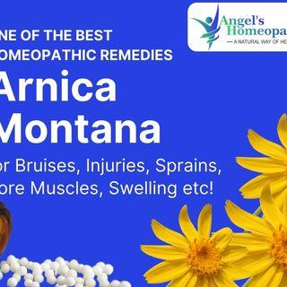 Arnica Montana Homeopathy Remedy Australia
