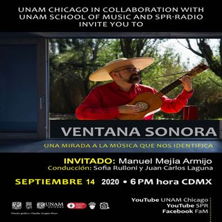 FESTIVAL DE MUSICA MEXICANA Manuel Mejia