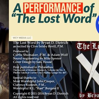 "Whence Came You? - 0428 - A Performance of ""The Lost Word"""