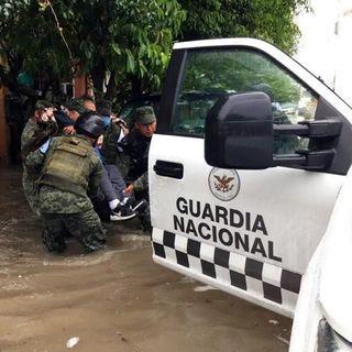 Guardia Nacional aplica tareas de limpieza en Nuevo León y Tamaulipas