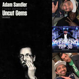Adam Sandler, Kevin Garnett sits with Dj Pup Dawg about Uncut Gems