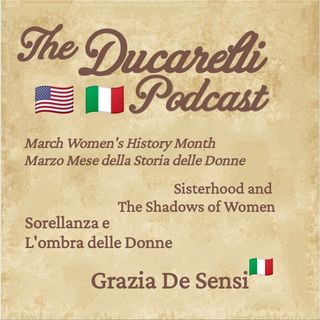 Sisterhood and The Shadows of Women - Sorellanza e L'ombra Delle Donne Grazia De Sensi AAA