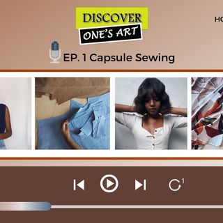 EP 1 Capsule sewing (Guest @laisaraujo from Brasil) - Portuguese episode