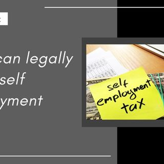 [ HTJ Podcast ] You can legally avoid self employment taxes