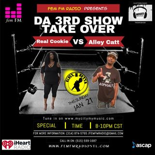 3rd Show Takeover ft DJ Alley Catt from Claytown Radio