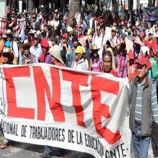 CNTE anuncia mega marcha