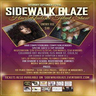Sidewalk Blaze Hair, Nails, and Talent Show
