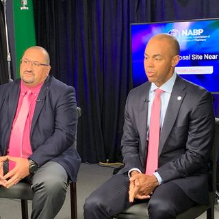 Tim Fensky and Al Carter of the National Assoc. of Boards of Pharmacy talk #safemedicationdisposal on #ConversationsLIVE ~ @NABP