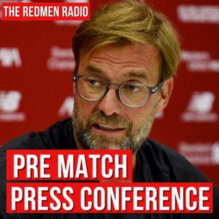 Jürgen Klopp's Burnley pre-match press conference