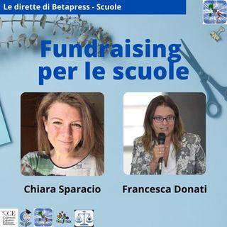 presentazione degli incontri Fundraising per le scuole