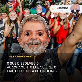 O que dissolveu o acampamento Lula Livre: o frio ou a falta de dinheiro?
