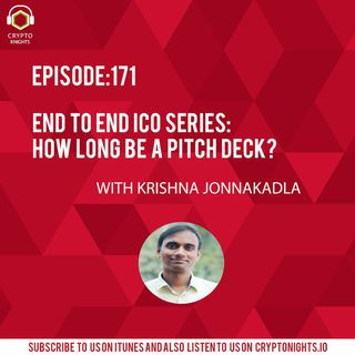 Episode 171-How long be a pitch deck?