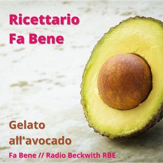 Ricettario Fa Bene - Gelato all'avocado