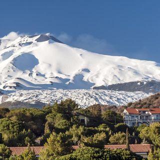 Nicolosi alle pendici dell'Etna