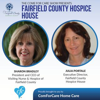 11/9/16: Sharon Bradley & Julia Protalli | Fairfield Founty Hospice House | Hosted by Nicol Rupolo ComForCare Stamford