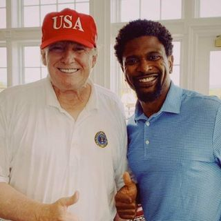 "Former NFL Player Jack Brewer Calls Trump The First Black President In Office."" Let's Talk.""🌋"