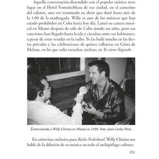 Entrevista con Willy Chirino (Parte 2) Programa Voces Radio Nederland (1999)