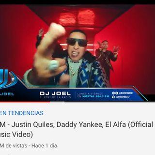 El Alfa Logra Record De Mas Visitas En Un Dia En YouTube Junto a Daddy Yankee y Justin Quiles