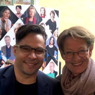 Söndagsintervjun i Almedalen med Gudrun Schyman