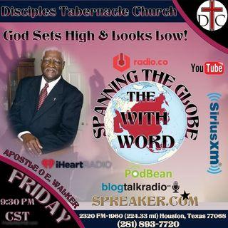 God Sets High & Looks Low!