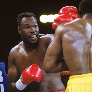 Ringside Boxing Show: Guest Larry Holmes on today's heavies, yesterday's memories .. plus Wilder's costume and Saturday's fights