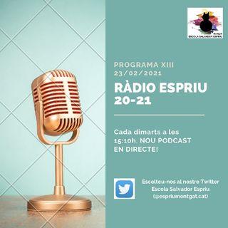 RÀDIO ESPRIU. Programa 13