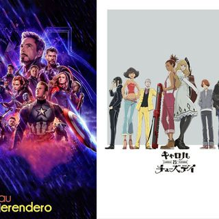 Avengers endgame & Carol & Tsuday 5x24