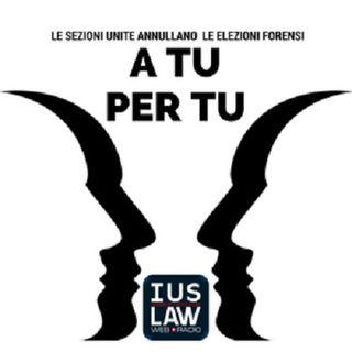 #aTUxTU: LE SEZIONI UNITE ANNULLANO LE ELEZIONI FORENSI