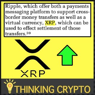 RIPPLE XRP Mentioned In Federal Document - XRP Top Spot in Emerging Trends - Greg Kidd Interview