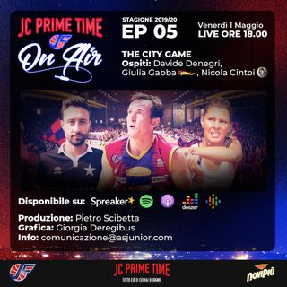 EP 05: THE CITY GAME  (feat. Nicola Cintoi, Davide Denegri, Giulia Gabba)