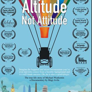 """Michael Warkentin and Magi Avila are my very special guests with """"Altitude Not Attitude""""!"""