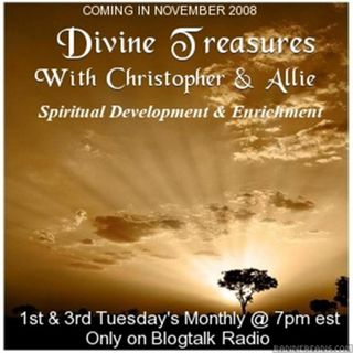 DIVINE TREASURES WITH CHRISTOPHER REBURN & ALLIE CHESLICK