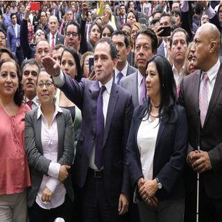 Arturo Herrera rinde protesta como nuevo titular de Hacienda