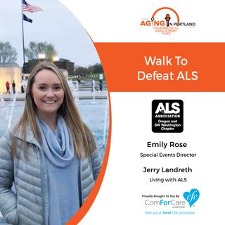 9/19/18: Emily-Rose, Special Events Director with The ALS Association Oregon and SW Washington Chapter and Jerry Landreth
