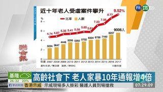 09:22 高齡社會下 老人家暴10年通報增4倍 ( 2019-06-10 )